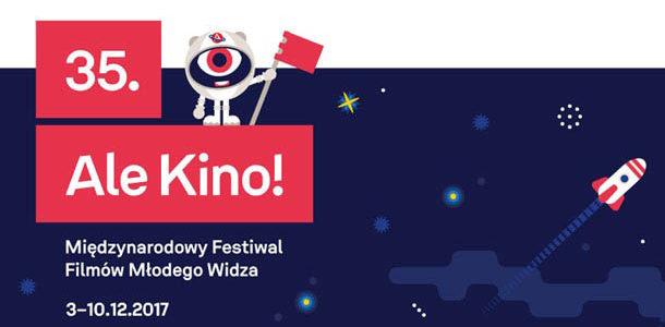 Zapraszamy na 35.Międzynarodowy Festiwal Filmów Młodego Widza Ale Kino!